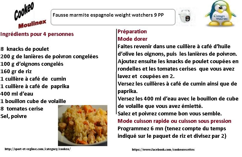 Découvrez cette fiche de recette cookeo de fausse marmite ...
