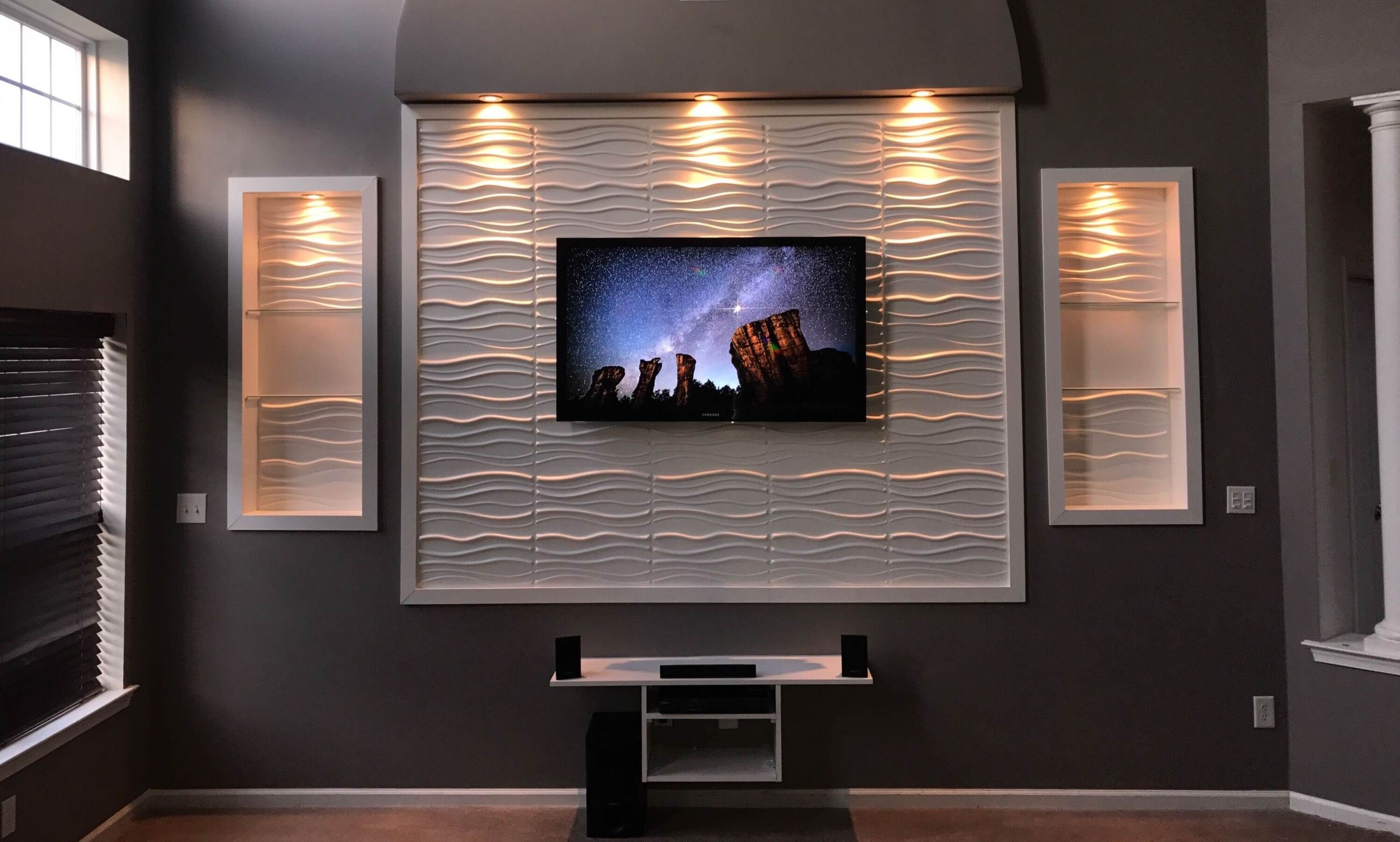 35 Modern Led Tv Wall Panel Designs For Your Living Room In