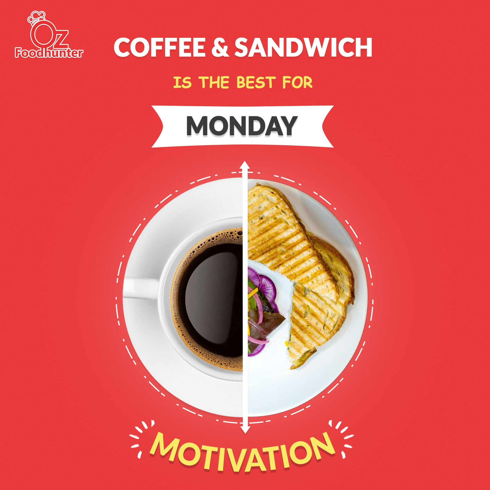 Best Monday Pair Food Advertising Food Ads Creative Food
