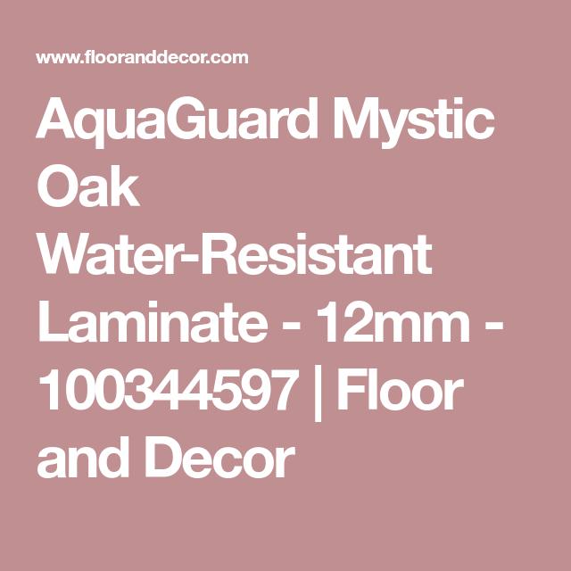 AquaGuard Mystic Oak Water-Resistant Laminate - 12mm - 100344597