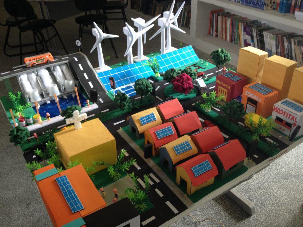 Maquete De Cidade Passo A Passo 26 Ideias Maior Maquete De Cidade Do Mundo With Images Cell City Project Science Projects Science Projects For Kids
