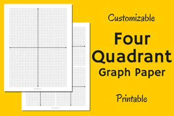 math four quadrant graph paper math pinterest graph paper and math