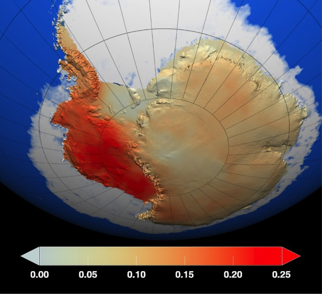Melting Antarctic Ice Sheets And Sea Level Rise A Warning From