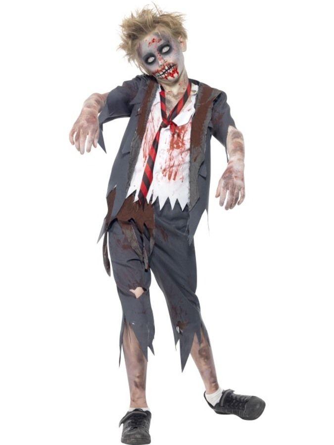Zombie Skolpojke Maskeraddräkt Barn i 2018  e7977c767aed8