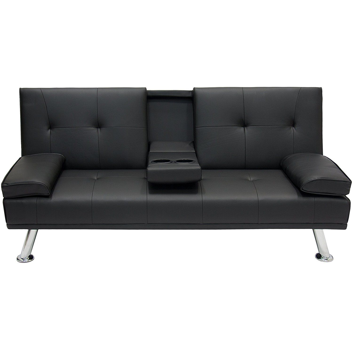 Amazon Sofa Bed Grey Amazon Entertainment Furniture Futon Sofa Bed Fold Up Down