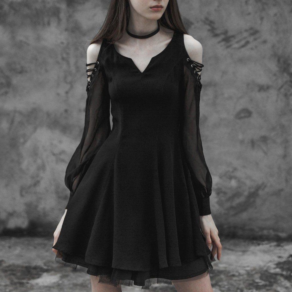Black Tea Dress Xl In 2021 Black Tea Dresses Fashion Black Dress [ 1024 x 1024 Pixel ]