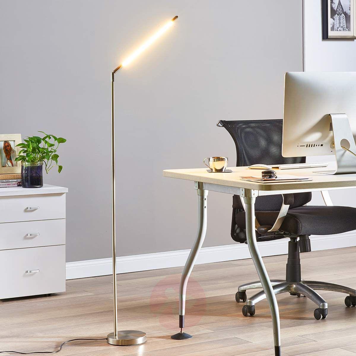 Minimalistyczna Lampa Stojąca Led Jabbo Do Czyt Lampy