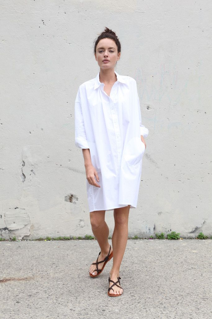 0cce7186f12e51 Vestido - Camisa Shirtdress | Everyday style in 2019 | Fashion ...