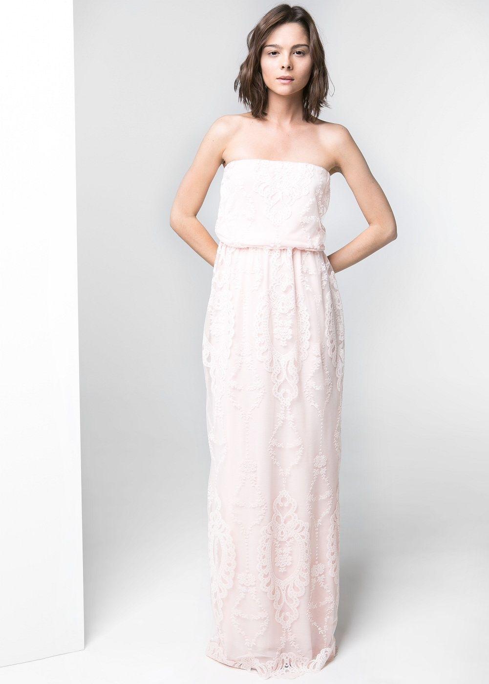 Langes tüllkleid - Damen  Vestidos boda civil, Vestidos de novia