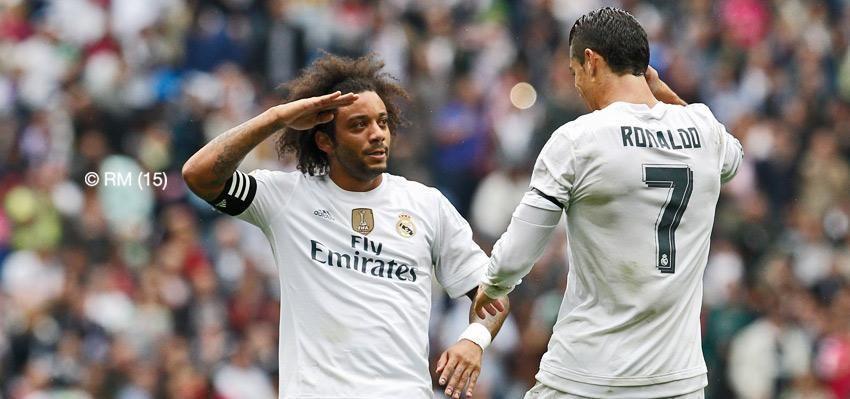 Capitán | Marcelo y Cristiano