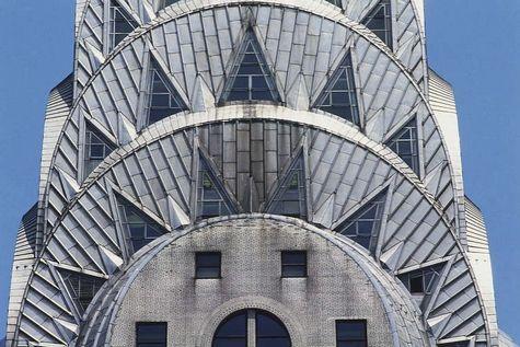 Med Art Deco Architecture Chrysler Building New York