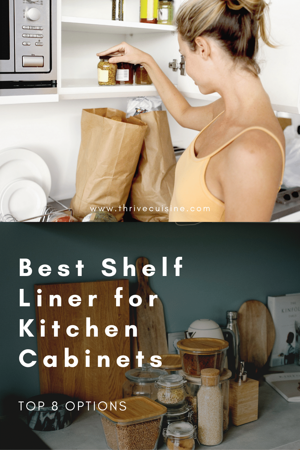 8 Best Shelf Liners For Kitchen Cabinets 2020 Edition In 2020 Kitchen Shelf Liner Pantry Shelf Liner Kitchen Cabinet Shelves