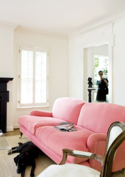 Pin by Dale Davison on Living room | Pinterest | Pink couch, Living ...