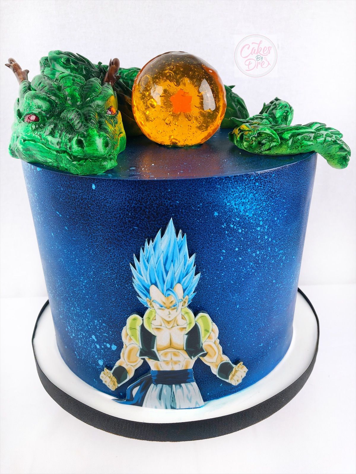 Dragon Ball Z Cake Dragonball Z Cake Drop Cake Celebration Cakes
