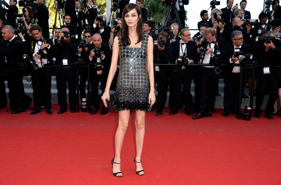 Luma Grothe de Paco Rabanne - Cannes 2015