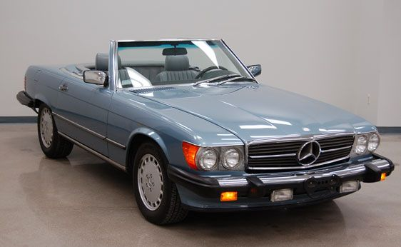 '87 560 SL MY DREAM!!!! (I would SO love to own this!)