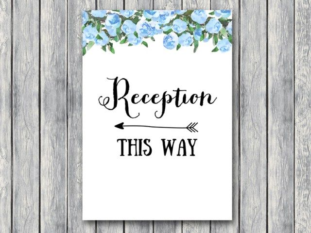 TH17-5x7-sign-reception-blue-bridal-wedding-shower
