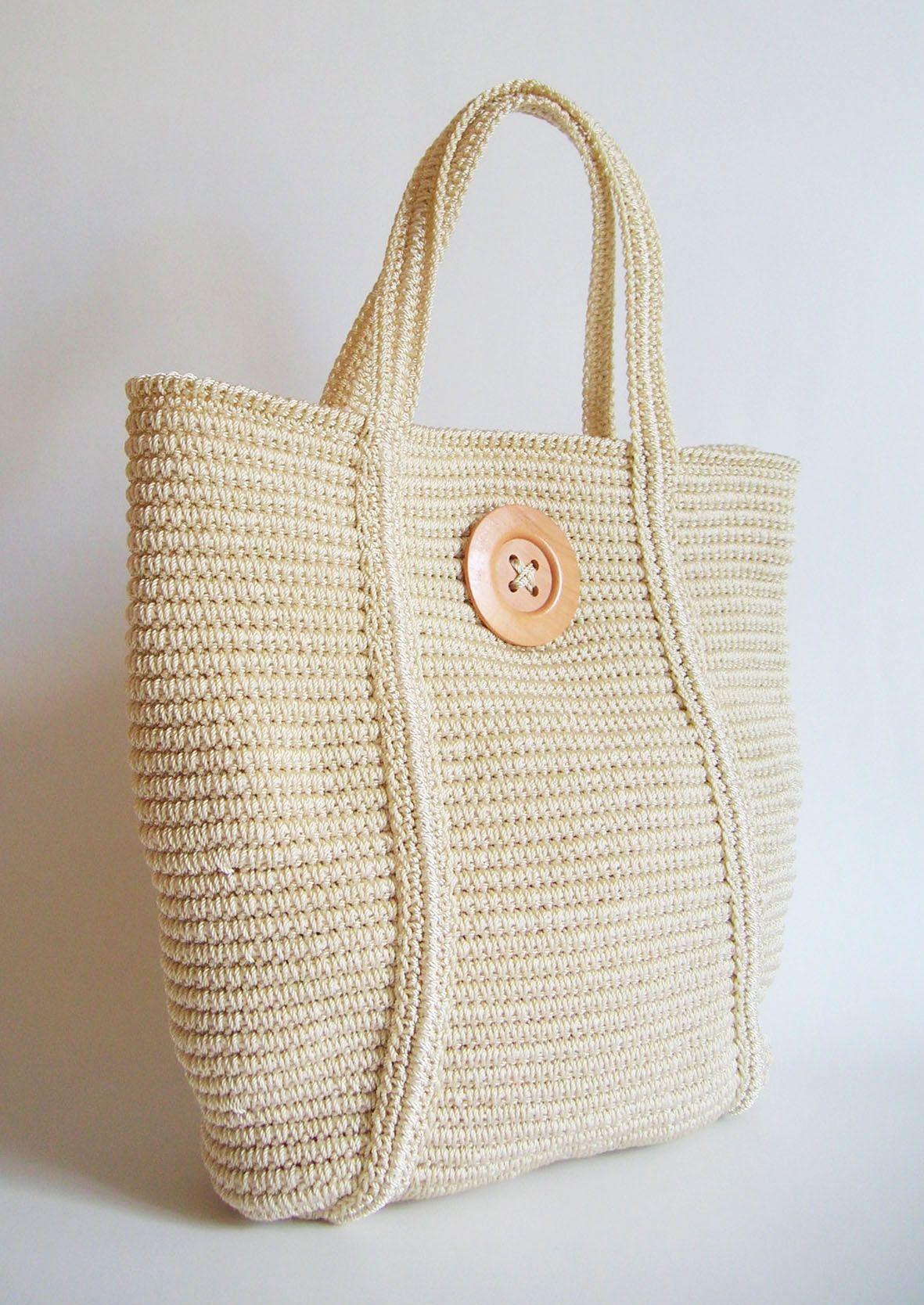 Tapestry crochet basic tote pattern, DIY/ Patrón para bolso básico ...