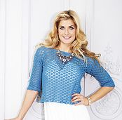 Ravelry: Cropped Top pattern by Woman's Weekly