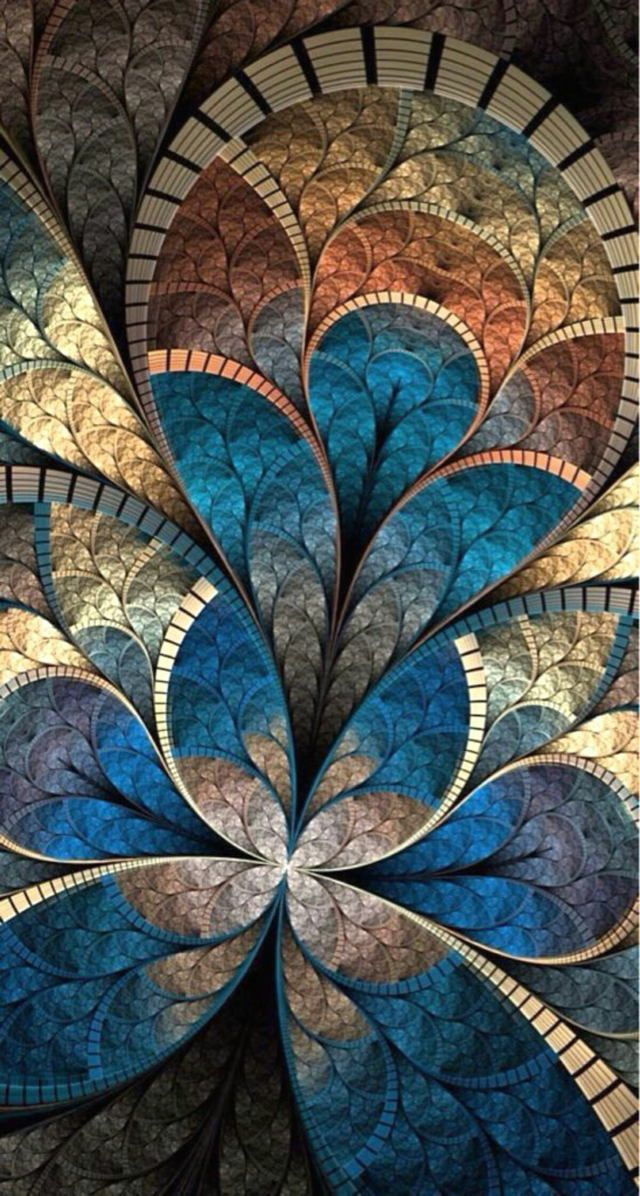 45 Abstract Iphone X Wallpaper Hd Muster Fraktal Kunst