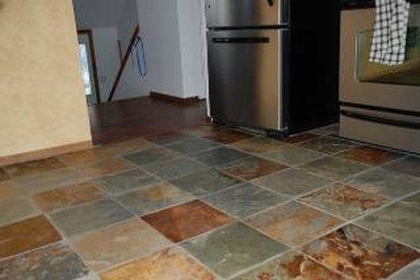 Whether You Have An Ambitious Artistic Streak Or Simply Want A Certain Color Scheme It S Possible To Stain Tile Floors Yourself Non Ceramic Tiles Such As