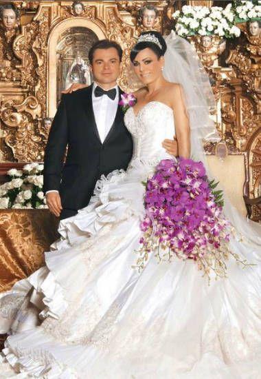 Vestidos de novia y ramos