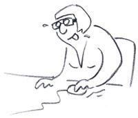 #Illustrations / Difficulty with #mouse  http://www.chabrol.net/explore/illustrations/