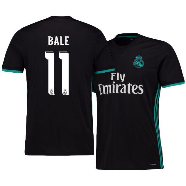 watch a02f7 850a8 Real Madrid Jersey 17-18 gareth bale Away Shirt | Gert bale ...