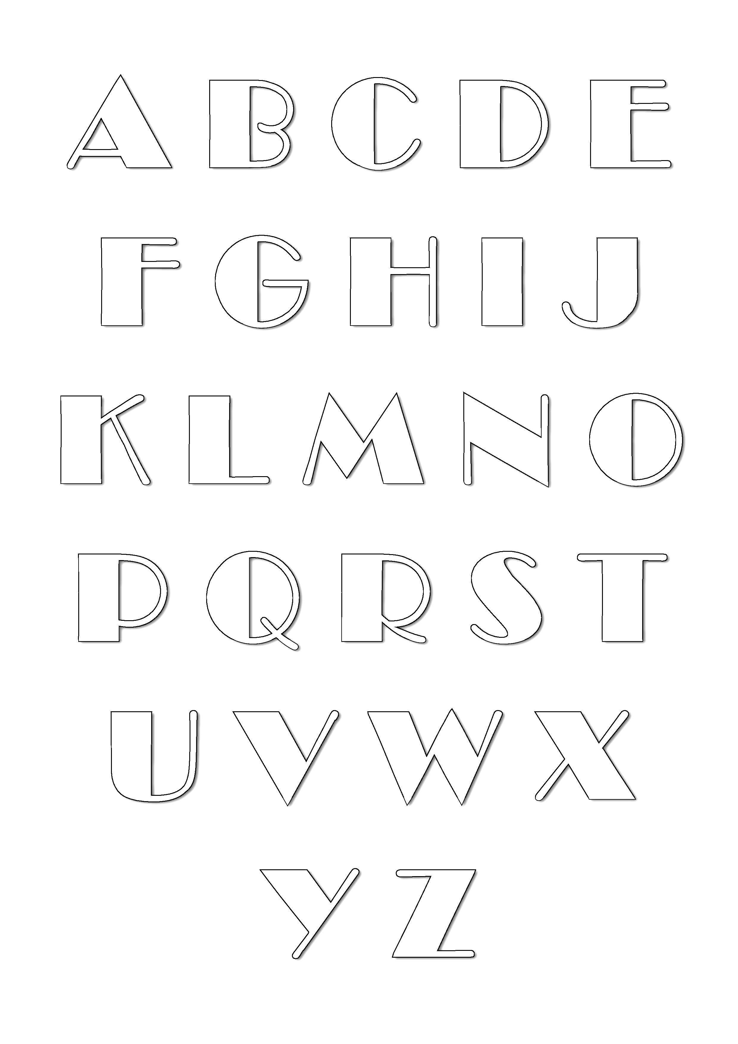 alphabet zum herunterladen von malvorlagen für alphabet