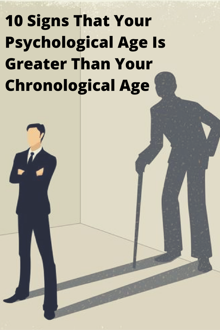Know your psychological age