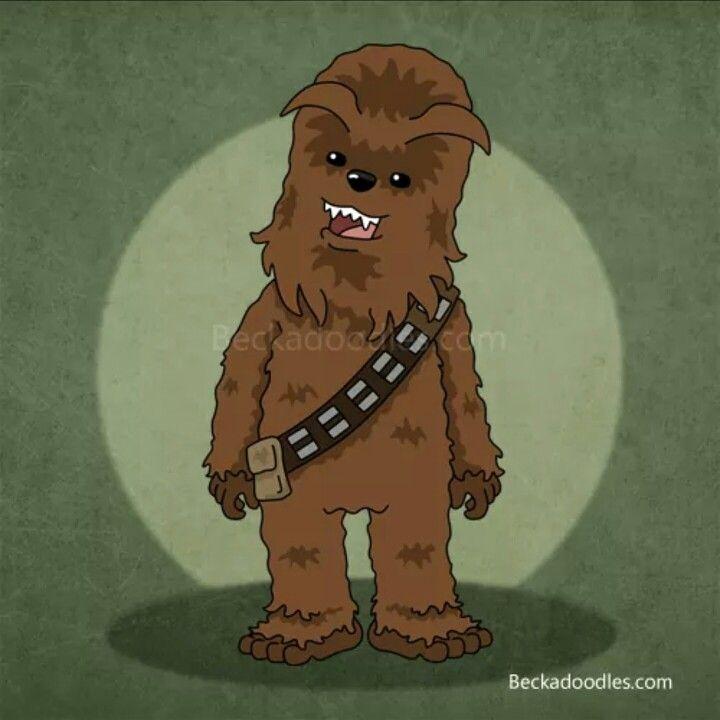 Chewbacca Drawing By Beck Seashols #starwars #chewbacca