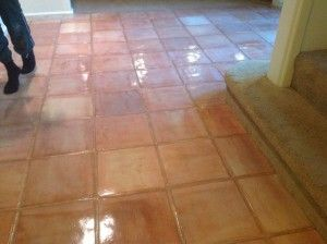 Who Else Wants Beautiful White Wash Stained Saltillo Tiles