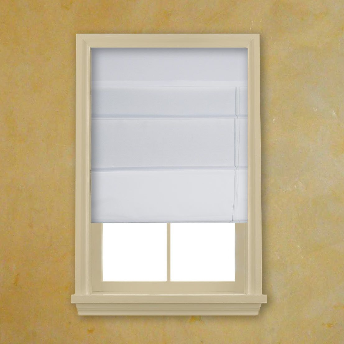 white fabric roman shades white fabric roman shades find more about blackout shades at http - Blackout Roman Shades