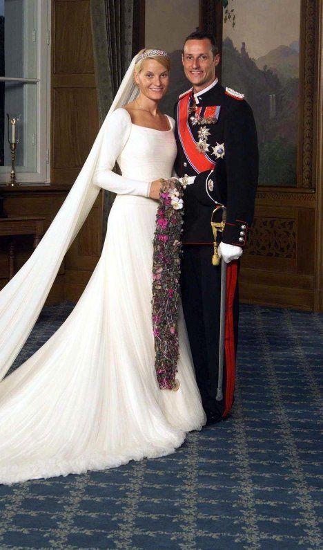Die Hochzeit Des Norwegischen Prinzen Haakon Magnus Und Mette Marit