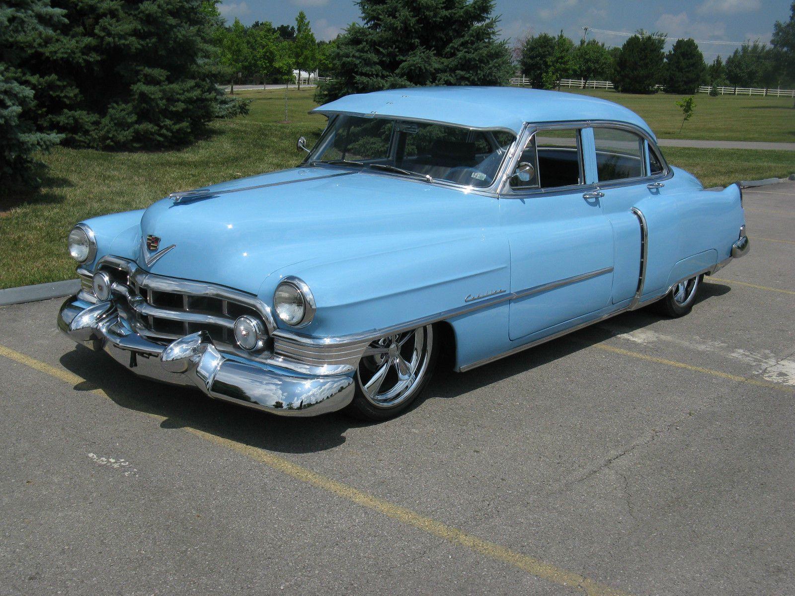 1951 Cadillac Series 62 Restomod Custom Cars For Sale Sedan Deville