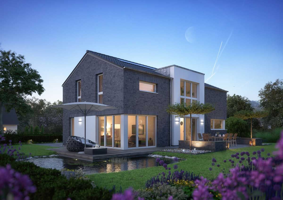 von au en einfamilienhaus mit satteldach von innen ein gro z giges stadthaus mit zwei. Black Bedroom Furniture Sets. Home Design Ideas