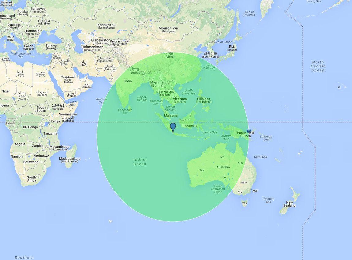 Krakatau Terkep Marlpoint