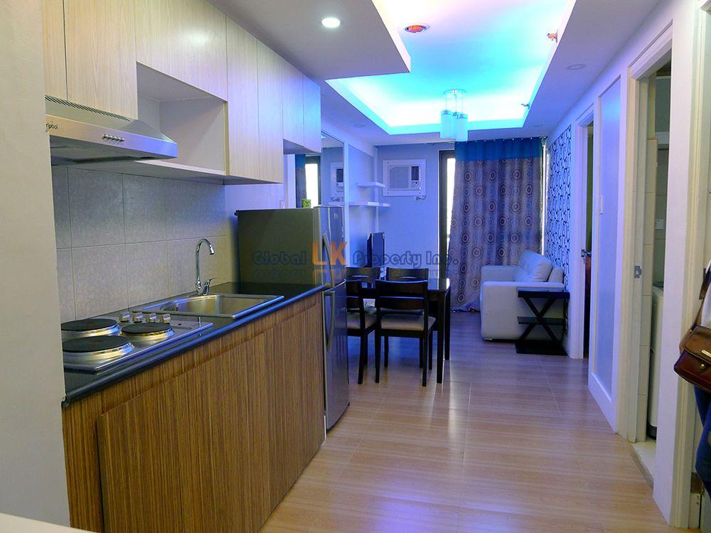Philippines Manila Quezon CUBAO Robinson Escalades Condo 2BR Rent Furnished