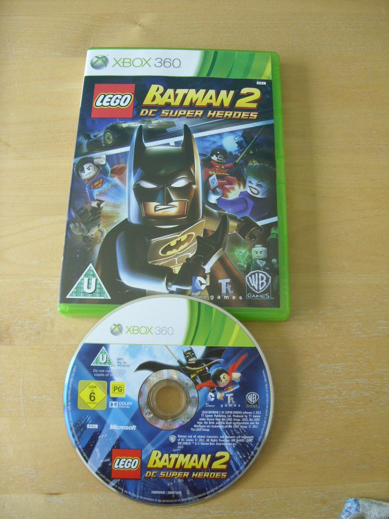 xbox 360 game lego batman 2 dc super heroes no manual free rh pinterest com LEGO Batman 2 Villains manual de lego batman 2