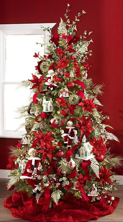 Arboles De Navidad 2015 2016 Arboles De Navidad Decorados Decoracion De Arboles Pinos De Navidad