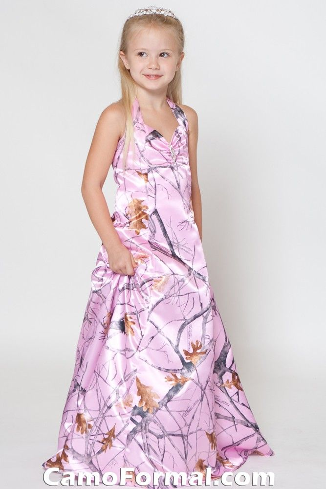 414342def97 pink camo wedding dresses