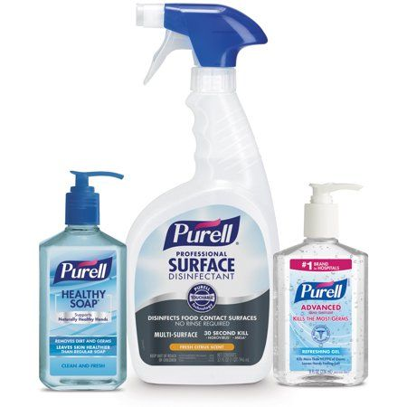 Purell Solution Breakroom Kit Comes With 1 12 Fl Oz Purell