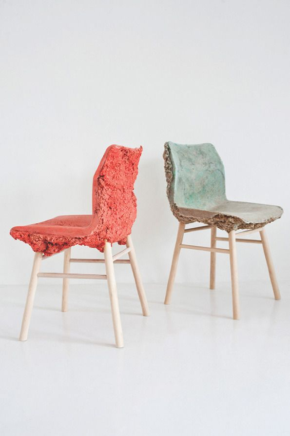 Marjan Van Aubel and James Shaw: Well Proven Chair