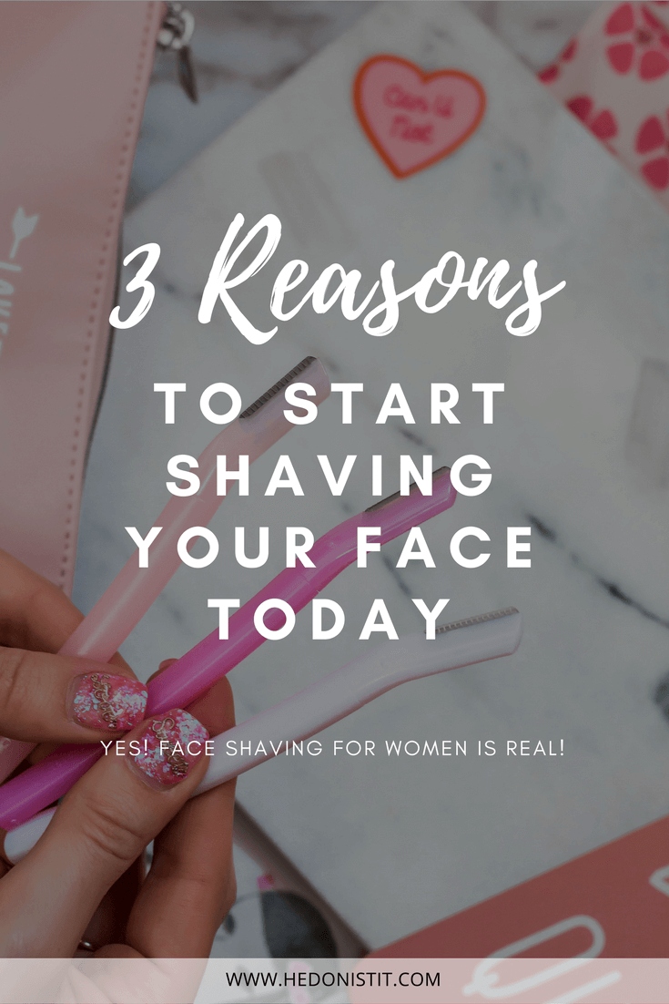 Women Can Too! Face Shaving Is The Best Way To Remove