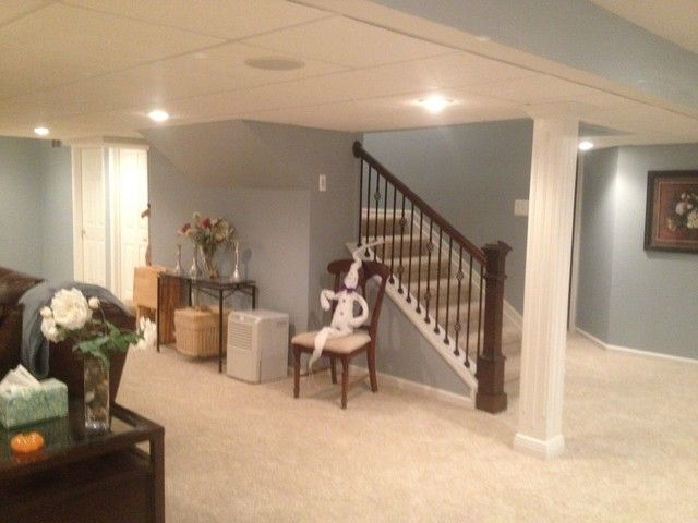 Small basement ideas, remodel, play area, layout, low ...
