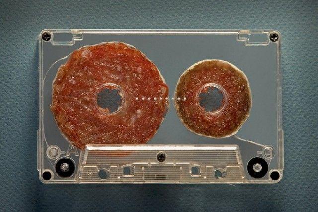 Esculturas de comida (casette)