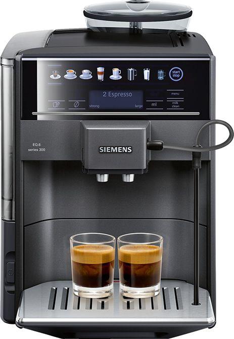 Siemens Eq6 Te603209rw Siemens Eq 6 Te603209rw Koffiemachine Jouw Favoriete Koffie Met Een Druk Op De Knop Deze Siemens Eq 6 Te603209rw Espressomachine Gemalen Koffie En Koffiebonen