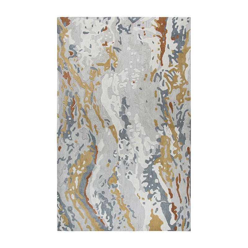 Rizzy Home Mod Collection Marley Abstract Rectangular Rugs