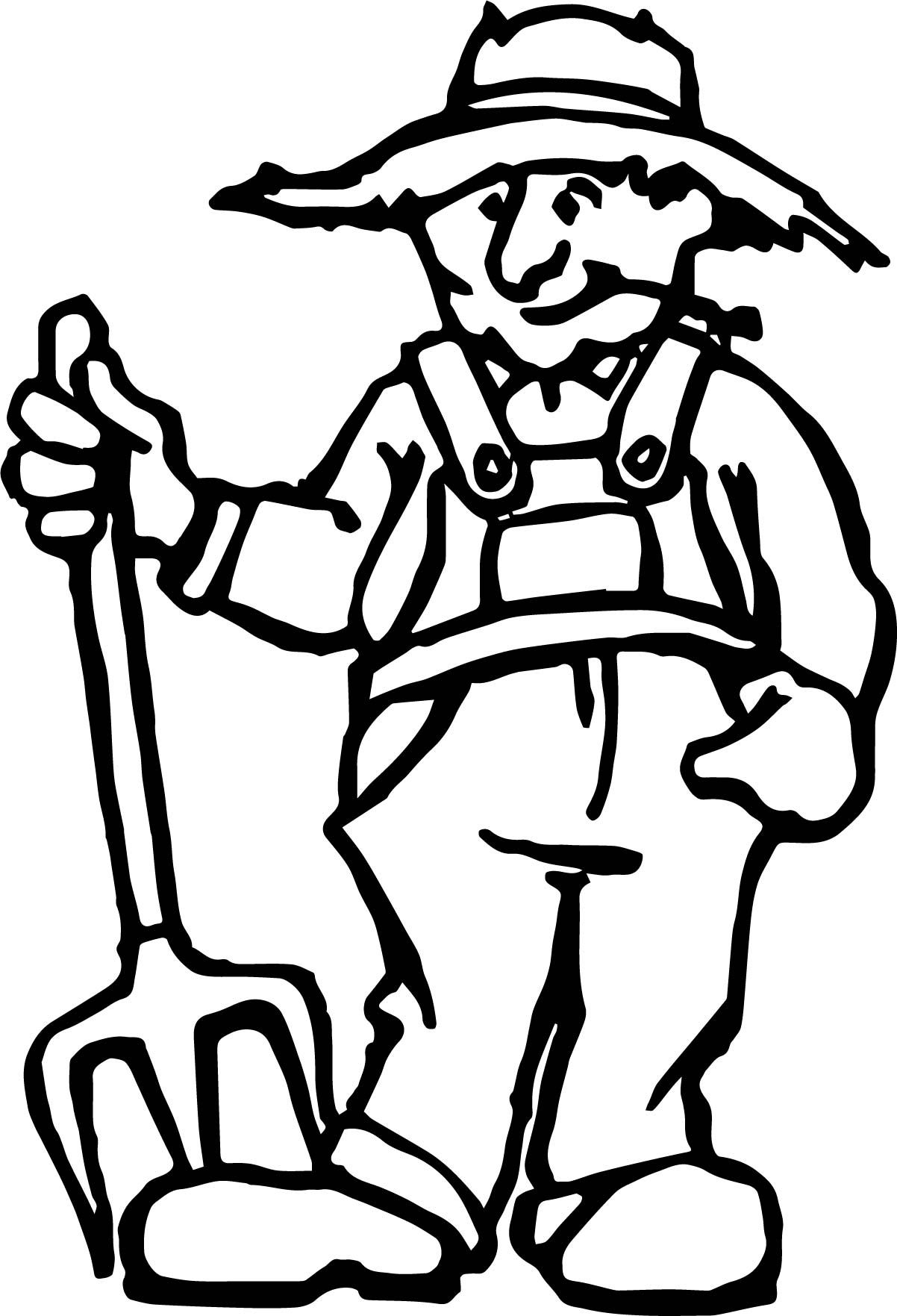Old Mcdonald Coloring Page Coloring Pages Color Sketches