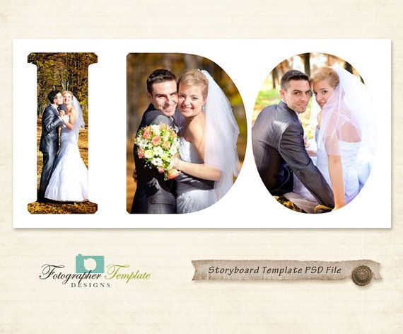 Photography Storyboard Templates Wedding Storyboard Photoshop